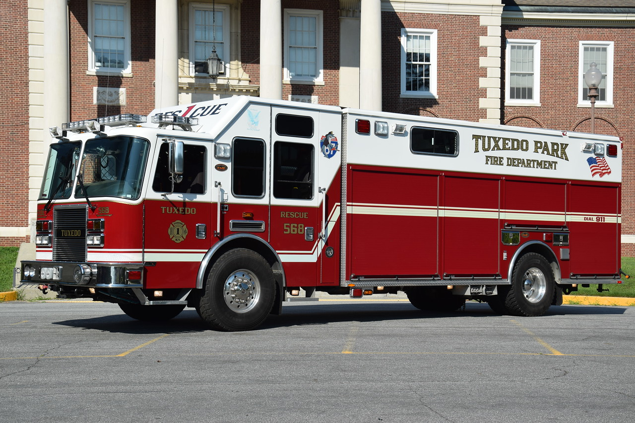 Tuexdo Park Fire Department Rescue 568