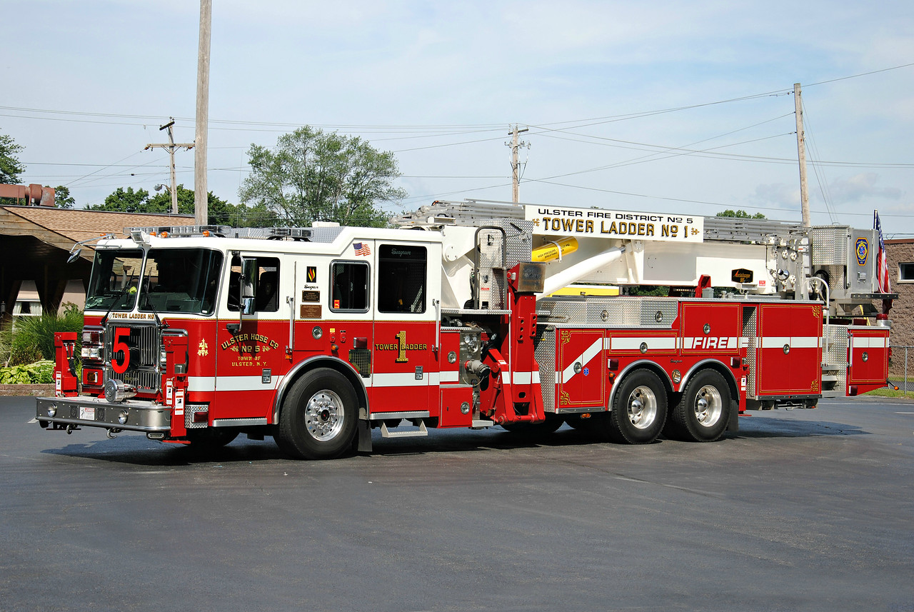 Ulster Hose Company #5, Tower 1