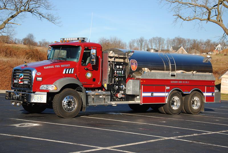 Raymond Hose Company #2, Warwick Tanker 639