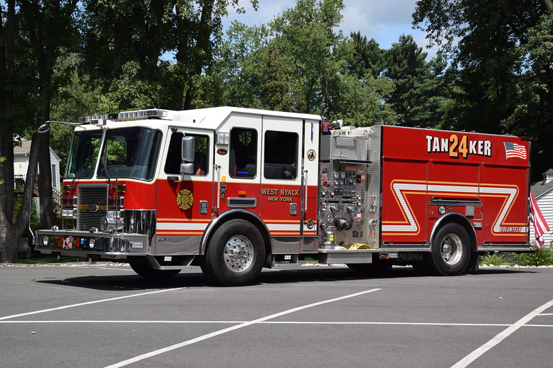 West Nyack Fire Department 24-Tanker