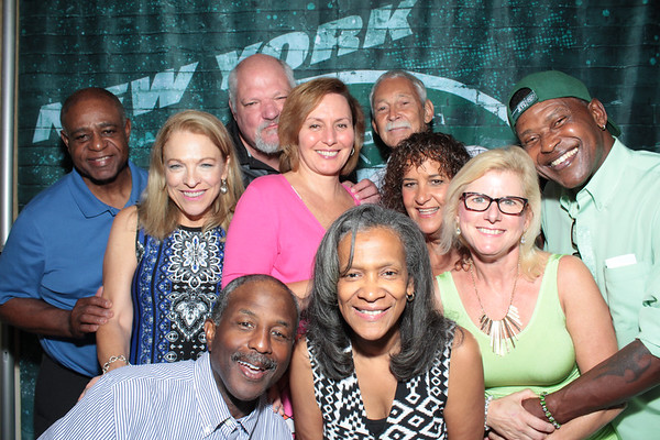 New York Jets Alumni Party 8/5/17