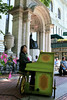 Ayako Shirasaki, Piano in the Park,   Bryant Park New York City