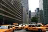 Taxis on Park and 52nd New York City