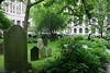 New York City: Trinity Church cemetary