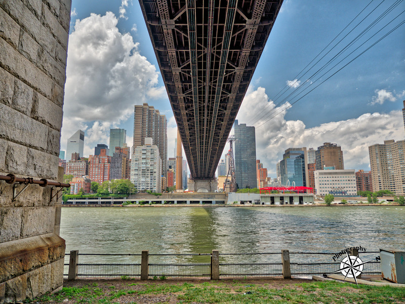 Under the Queensboro bridge HDR