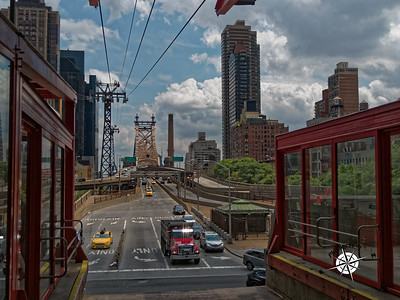 Setting out on the Roosevelt Island tram.
