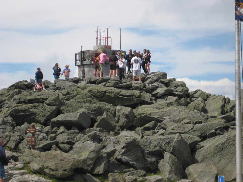 Peak of Mount Washington