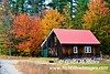 Cabin & Fall Foliage