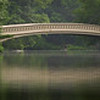 The iconic Bow Bridge in Central Park
