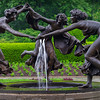 Three Dancing Maidens Fountain at the Conservatory Gardens