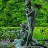 The Burnett fountain in the Secret Garden