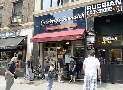 August 4, 2008 Eisenberg's with Vinnie