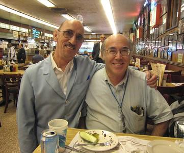 Katz's, September 18, 2007, featuring Ritchie the Waiter
