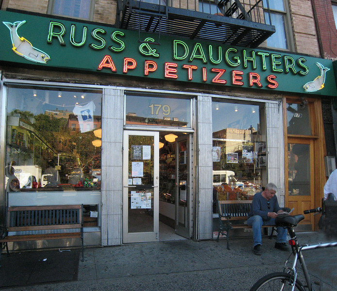 Russ and Daughters, located on Houston Street, is the smoked fish navel of the planet.  It's a block or two from Katz's. Bring plenty of money.