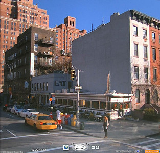 Here's an old Streetside photo from Bing Maps.