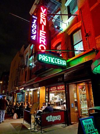 1st Ave Indian Restaurants, Curio Shop, Veniero's, De Robertis, Sep. 26, 2009