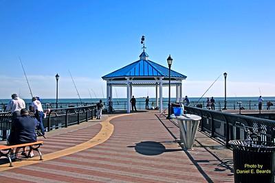 South Beach Fishing Pier in Staten Island New York City