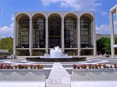 The Metropolitan Opera House at Lincoln Center
