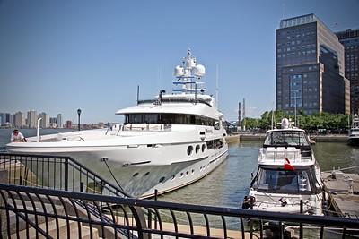 North Cove Yacht Basin in Manhattan