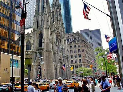 St. Patrick's Cathedral on Fifth Avenue