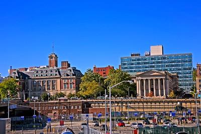St. George in Staten Island New York City