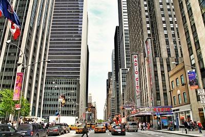 Avenue of The Americas in Manhattan