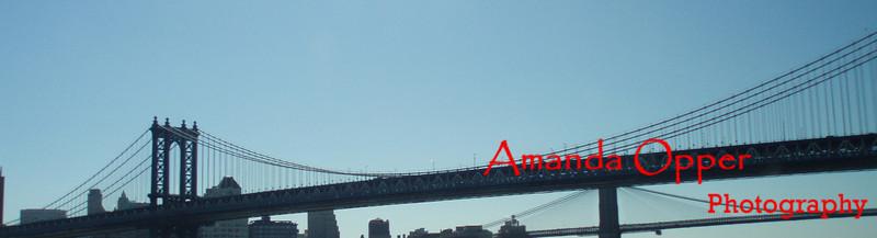 Along the Brooklyn Bridge