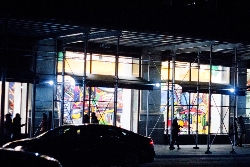Lego Store in Manhattan