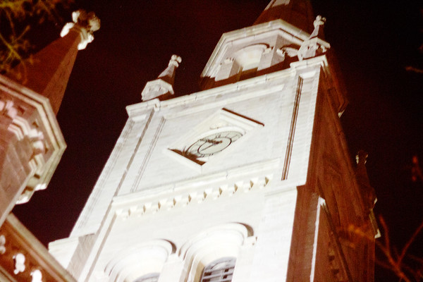 Church Clock Tower in New York