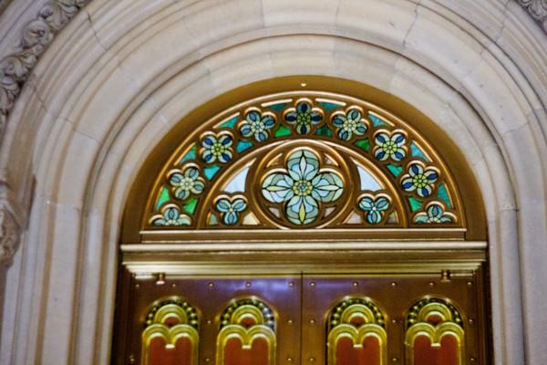 Church Entrance in Manhattan