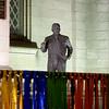 Statue at Church in Manhattan