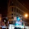 Flat Iron at Night in New York