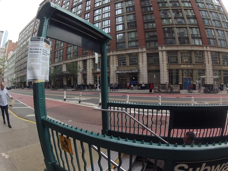VR Photograph Walking Around Manhattan 3