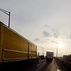 Trucks and Sky