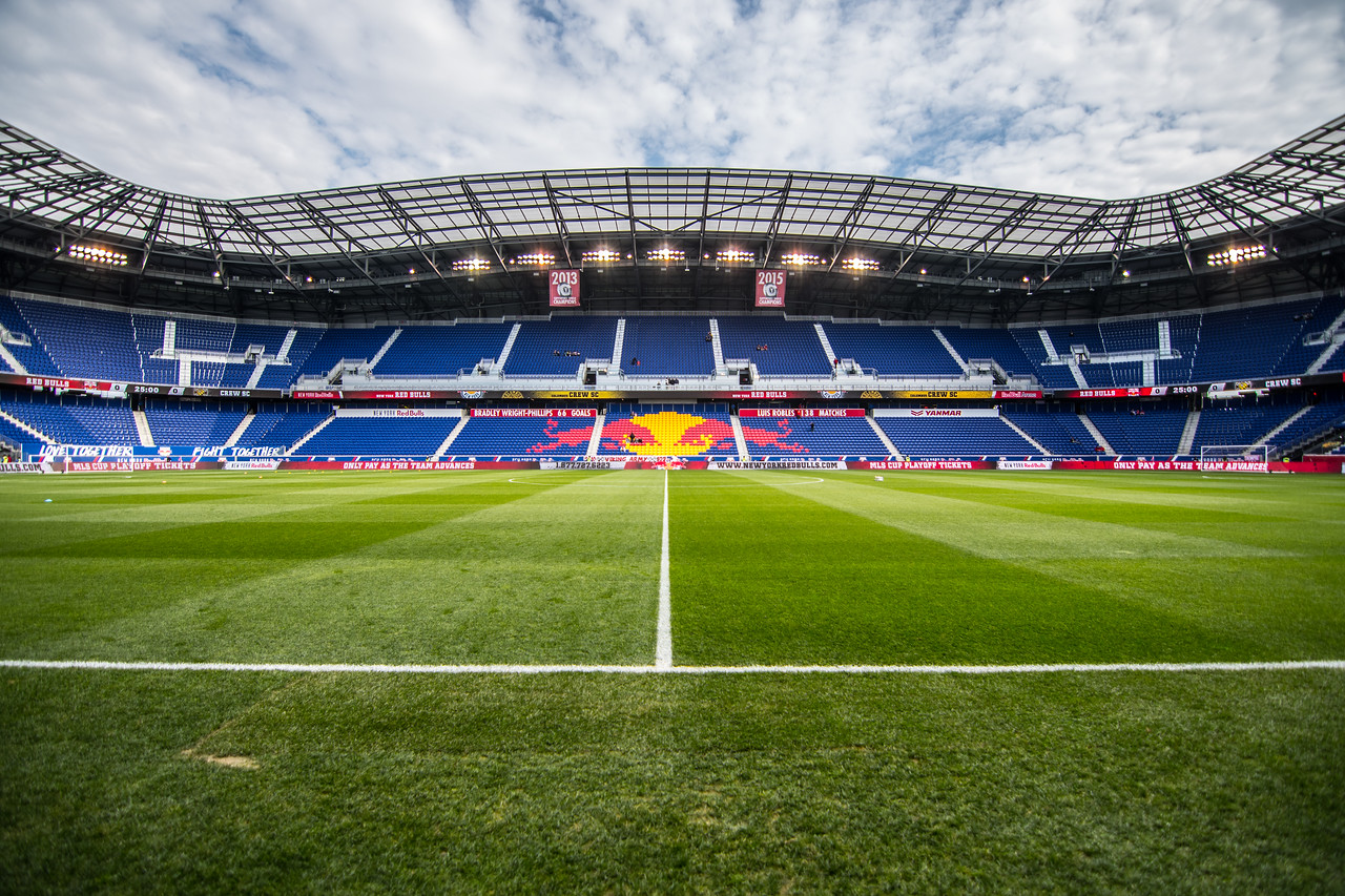 New York Red Bulls & Columbus on  Oct 16, 2016 on Red Bull arena,Harrison New jersey,  USA, MLS