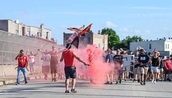 New York Red Bulls Vs NYCFC 7/14