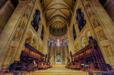 The Nave of the Cathedral of St. John the Divine, New York City