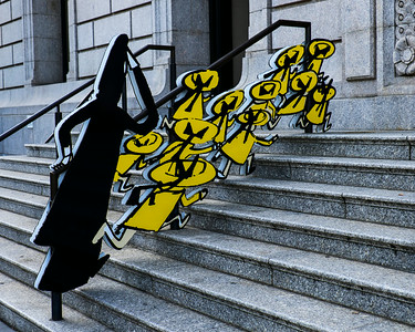 Madeline in New York: The Art of Ludwig Bemelsman Exhibit New York Historical Society Steps