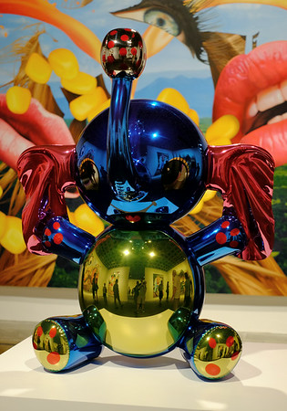 Jeff Koons Sculpture Whitney Museum
