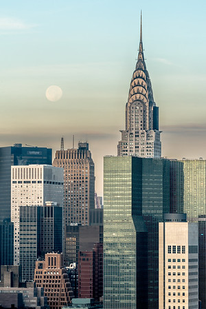 The Hunter's Moon and Chrysler Building