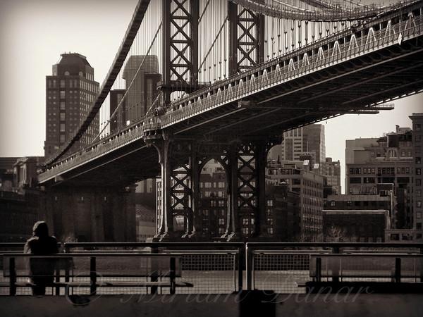 A View from the Bridge - Manhattan Bridge New York