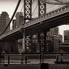 A View from the Bridge - Manhattan Bridge New York