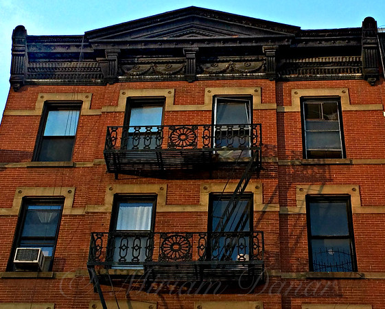 Escape From Another Time - Fire Escapes Of New York