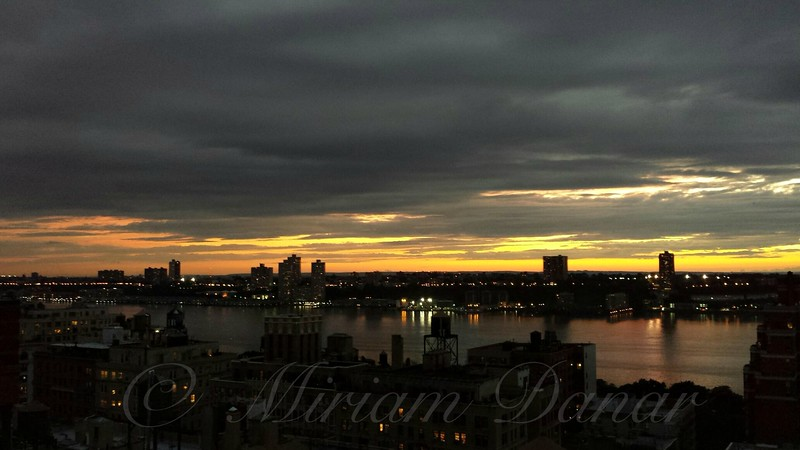 West Side at Sunset - Beauty of the Hudson