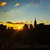 Golden Sunset - New York