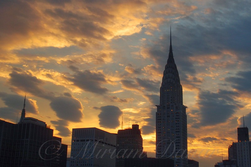 Incredible Sunset No. 3 -  New York City Skyline
