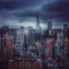 Blue Winds Of Winter - Skyline Of New York