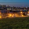 View of Manhattan Skyline from Sunset Park, Brooklyn