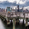 View of Manhattan skyline from LIC Waterfront