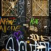 Graffiti Door - N Y C Street Art